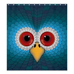 Bird Eyes Abstract Shower Curtain 66  X 72  (large)