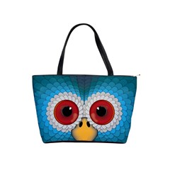 Bird Eyes Abstract Shoulder Handbags