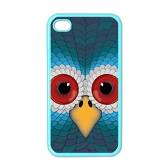 Bird Eyes Abstract Apple iPhone 4 Case (Color)