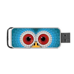 Bird Eyes Abstract Portable Usb Flash (two Sides)