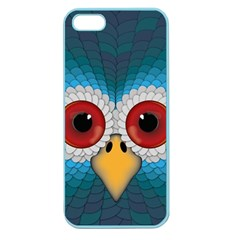 Bird Eyes Abstract Apple Seamless Iphone 5 Case (color)