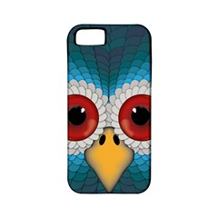Bird Eyes Abstract Apple Iphone 5 Classic Hardshell Case (pc+silicone)