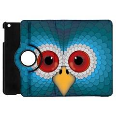 Bird Eyes Abstract Apple iPad Mini Flip 360 Case