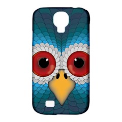 Bird Eyes Abstract Samsung Galaxy S4 Classic Hardshell Case (pc+silicone)