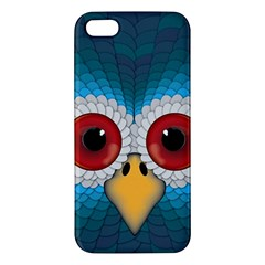 Bird Eyes Abstract Iphone 5s/ Se Premium Hardshell Case