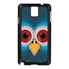 Bird Eyes Abstract Samsung Galaxy Note 3 N9005 Case (black)