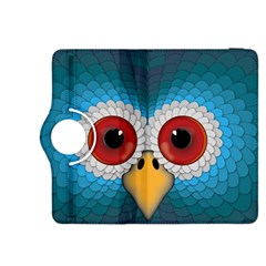 Bird Eyes Abstract Kindle Fire Hdx 8 9  Flip 360 Case