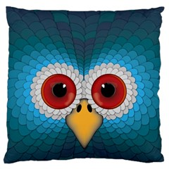 Bird Eyes Abstract Standard Flano Cushion Case (two Sides)