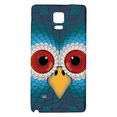 Bird Eyes Abstract Galaxy Note 4 Back Case