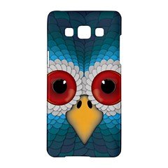 Bird Eyes Abstract Samsung Galaxy A5 Hardshell Case
