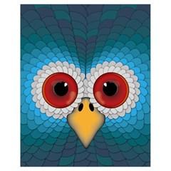 Bird Eyes Abstract Drawstring Bag (small)