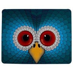Bird Eyes Abstract Jigsaw Puzzle Photo Stand (Rectangular)