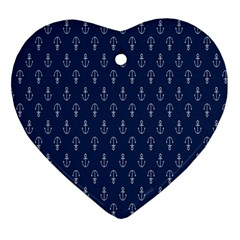 Anchor Pattern Ornament (Heart)