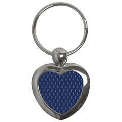 Anchor Pattern Key Chains (heart)
