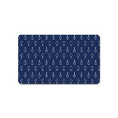 Anchor Pattern Magnet (name Card)