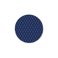 Anchor Pattern Golf Ball Marker (4 Pack)