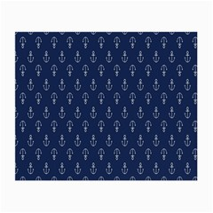 Anchor Pattern Small Glasses Cloth