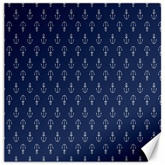 Anchor Pattern Canvas 20  X 20