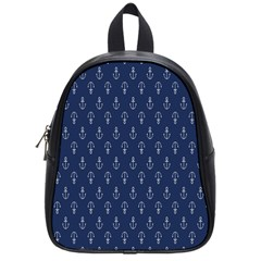 Anchor Pattern School Bags (Small)