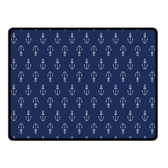 Anchor Pattern Fleece Blanket (small)