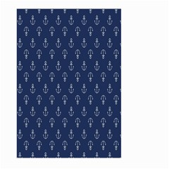 Anchor Pattern Large Garden Flag (two Sides)
