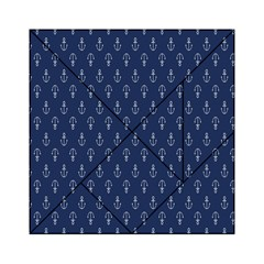 Anchor Pattern Acrylic Tangram Puzzle (6  X 6 )