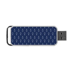 Anchor Pattern Portable Usb Flash (one Side)