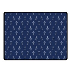 Anchor Pattern Double Sided Fleece Blanket (Small)