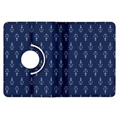 Anchor Pattern Kindle Fire HDX Flip 360 Case