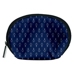Anchor Pattern Accessory Pouches (medium)