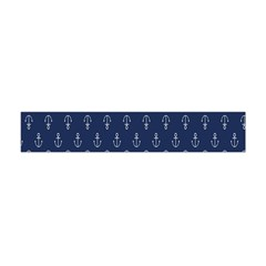 Anchor Pattern Flano Scarf (Mini)