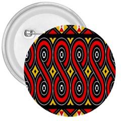Toraja Traditional Art Pattern 3  Buttons