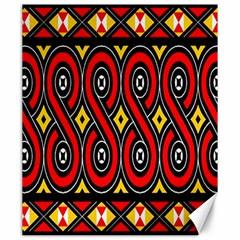 Toraja Traditional Art Pattern Canvas 20  X 24