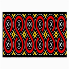 Toraja Traditional Art Pattern Large Glasses Cloth (2-Side)