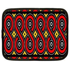 Toraja Traditional Art Pattern Netbook Case (large)
