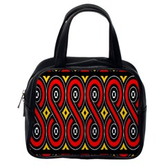 Toraja Traditional Art Pattern Classic Handbags (One Side)