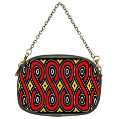 Toraja Traditional Art Pattern Chain Purses (one Side)