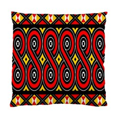 Toraja Traditional Art Pattern Standard Cushion Case (one Side)