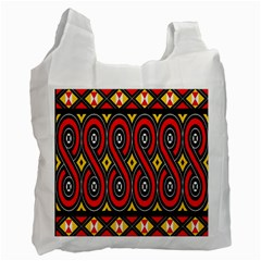 Toraja Traditional Art Pattern Recycle Bag (two Side)