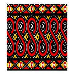Toraja Traditional Art Pattern Shower Curtain 66  X 72  (large)