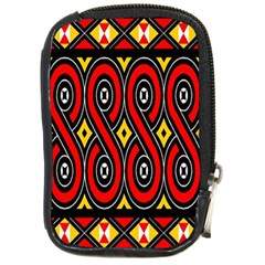 Toraja Traditional Art Pattern Compact Camera Cases