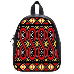 Toraja Traditional Art Pattern School Bags (small)