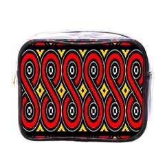 Toraja Traditional Art Pattern Mini Toiletries Bags