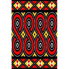 Toraja Traditional Art Pattern 5 5  X 8 5  Notebooks