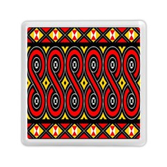 Toraja Traditional Art Pattern Memory Card Reader (square)