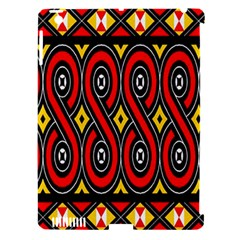 Toraja Traditional Art Pattern Apple Ipad 3/4 Hardshell Case (compatible With Smart Cover)