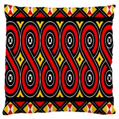 Toraja Traditional Art Pattern Large Cushion Case (One Side)