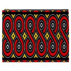 Toraja Traditional Art Pattern Cosmetic Bag (xxxl)