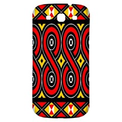 Toraja Traditional Art Pattern Samsung Galaxy S3 S Iii Classic Hardshell Back Case