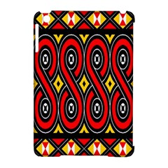 Toraja Traditional Art Pattern Apple Ipad Mini Hardshell Case (compatible With Smart Cover)